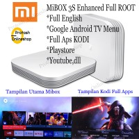 Jual Xiaomi MI BOX Hezi 3s 3 PRO 4K ( ROOT + ENGLISH +FULL APLIKASIH ) Murah