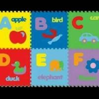 Evamat Huruf A-Z dan Gambar / Alas Tikar Bayi / Playmat
