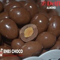 Jual Super Murah Coklat Delfi Kiloan Almond - 1/2  Kg Murah