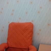 Wallpaper Sticker PVC Garis Orange Geometris Bola