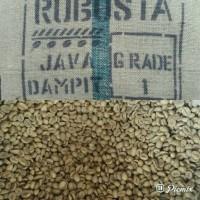 Jual green bean kopi fine robusta java dampit Murah