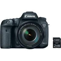 Canon EOS 7D Mark II Kit 18-135 + W-E1