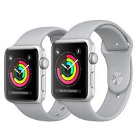 harga Apple Watch Series 3 Gps Aluminum Silver + Fog Sport Band 42mm Tokopedia.com