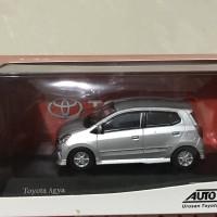 Toyota Agya Skala 43 Warna Silver Dealer Box Auto 2000