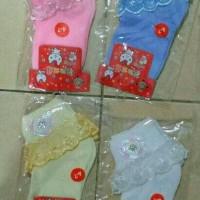 Kaos Kaki Renda Warna Warni Anak Kid Socks Usia 4-6 tahun