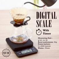 Jual Alat Pembuat Kopi Digital Scale with Timer for Manual Brew Murah