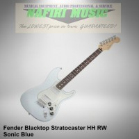 Fender Blacktop Stratocaster HH RW Sonic Blue Baru