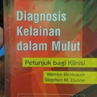 Buku Kedokteran Gigi-Diagnosis kelainan dalam mulut : petunjuk bagi