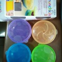 Jual MUNCHKIN 4pc Stack A Bowls Baby Bowl Snack Holder Mangkok Makan Bayi Murah
