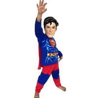 Jual Baju Anak Kostum Topeng Superhero Superman Super Man Limited Murah