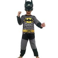 Jual PROMO !! Baju Anak Karakter Kostum Topeng Superhero Batman Murah