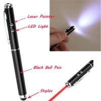 Stylus Pen Multifungsi Untuk Smartphone dan Tablet Dengan Pointer