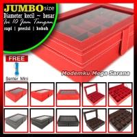 Jual [Kualitas Super] Kotak Box Jam Tangan Isi 10 - Free Senter Mini Murah