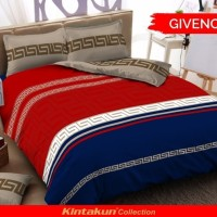 bed cover set Kintakun d'luxe ukuran 180 x 200 King New GIVENCHY