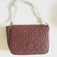 TAS WANITA IMPORT TORY BURCH MARION QUILTED SMALL FLAP SHOULDER BAG