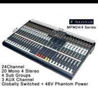 Harga mixer soundcraft mpm 24 4 24 channel | Pembandingharga.com