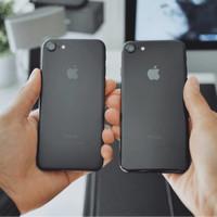 READY STOK IPHONE 7 PLUS 7PLUS + 32GB MATTE BLACK VERSI KOREA ORI