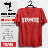 Kaos Om Telolet Om #2 / Unik / Bis / Klakson / Tshirt / Baju / Distro