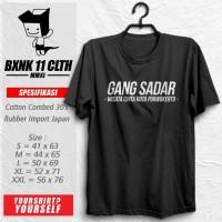 Kaos Wisata Cinta # 3 / Gang Sadar / Kota Purwokerto / Distro /