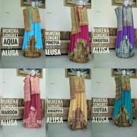 Jual Mukena Songket Emas Bali Exclusive Rayon janger jumbo Murah