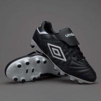 Sepatu Bola umbro Specialy Eternal Premier FG  Black White