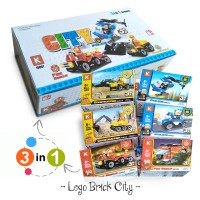 Jual Lego Bricks City K 3in1 Series  Murah