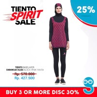 Tiento Swimwear Hijab Wetsuit Baju Pakaian Renang Muslimah Original