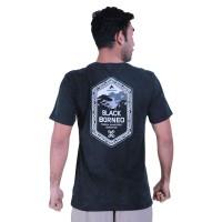 Kaos Eiger Black Borneo Ethnic XPDC