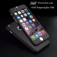 Hardcase Case Iphon 7 Plus 7 Neo Hybrid 360 FREE Tempered Glass Full