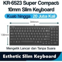 i-Rocks/iRocks slim keyboard usb wired ,Super compack 1.5 Area KR6523