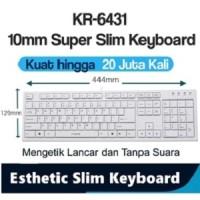 I-Rocks/iRocks scissor Keyboard Terrace keycap 20Jt kali ketik KR6431W