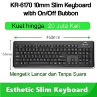 I-Rocks/iRocks scissor Keyboard w/ power On/Off button 20 jt KR6170
