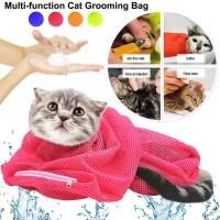 Cat Grooming Bag Tas Kucing Alat Grooming Kucing Tas Mandi Kucing