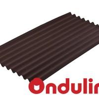 ATAP ONDULINE WRN COKLAT(2000x95x3 mm) - FREE SEKRUP 14 PCS