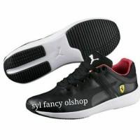 sepatu PUMA Ferrari black sneaker shoes Original skin 30590002 limited