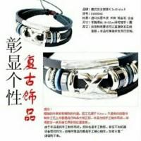 gelang korea simbol xgray keren murah meriah terlaris