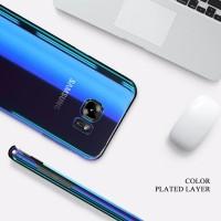 FLOVEME Original Case Samsung Galaxy S6 S7 Edge S8 Plus Cover Blue Ray