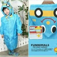 Jas Hujan Anak Balita Funny Rain Coat (Adiknya Kido)