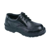 sepatu boot/safety shoes handymen pendek model tali bahan kulit asli