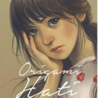 BUKU NOVEL ORIGAMI HATI , BOY CANDRA ORIGINAL