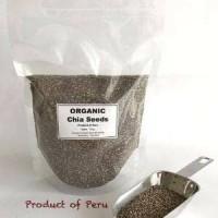 Chia seed organic peru 1kg