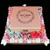 Kotak Cincin / Gelang / Kalung / Uang / Perhiasan / Mahar Logam Mulia