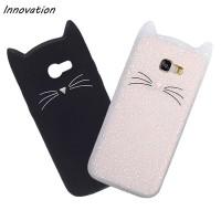Cat Phone Case Samsung A5 A7 A3 2017 J5 J7 Grand Prime S8 S7 S6 Edge