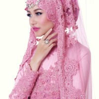 Exclusive - Kebaya Dress Pengantin Muslimah - Aurora
