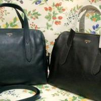 Ready tas Fossil sydney satchel Heritage blue and black