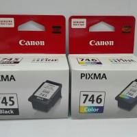 Tinta Printer Canon PIXMA PG 745 Black CL 746 Colour 1set