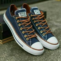 sepatu converse blue navy sz 41