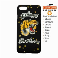case samsung A5 A7 j3 vivo Oppo redmi 4 iphone 5 6 7 8 x gucci tiger