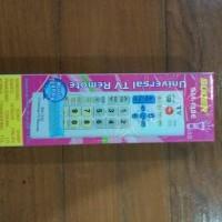 REMOTE TV tanpa kode SAMSUNG SONY SHARP TOSHIBA PANASONIC CANGHONG DLL