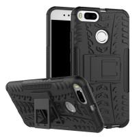 Hard Soft Case Xiaomi Mi 5X Mi5X Casing HP Silikon Armor Stand Cover